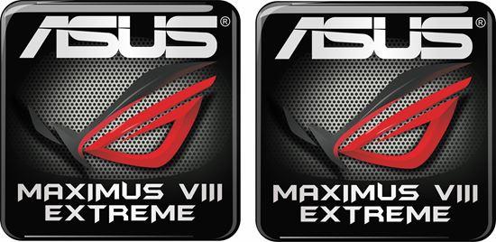 Picture of Asus Maximus VIII Extreme Gel Badges