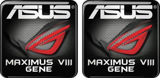 Picture of Asus Maximus VIII Gene Gel Badge