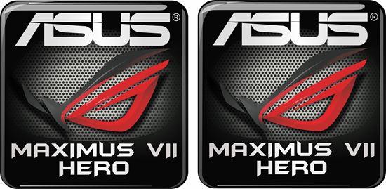 Picture of Asus Maximus VII Hero Gel Badge