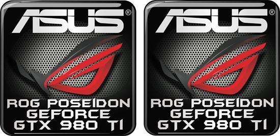 Picture of Asus Rog Poseidon Geforce GTX 980 TI Gel Badge