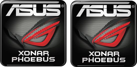 Picture of Asus Xonar Phoebus Gel Badge