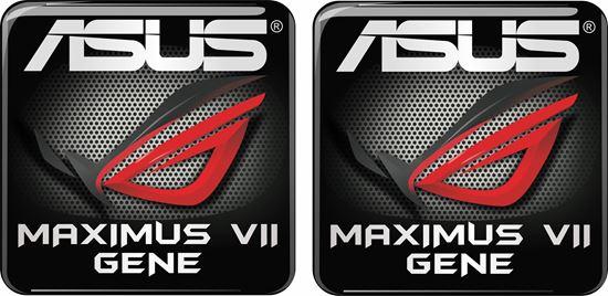 Picture of Asus Maximus VII Gene Gel Badge