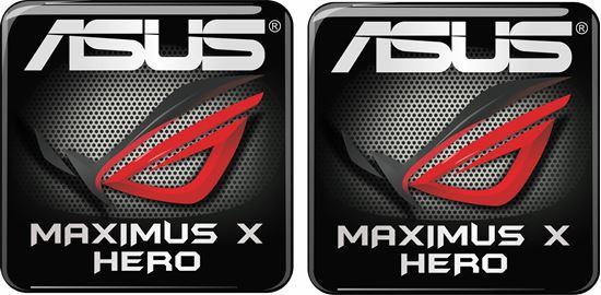 Picture of Asus Maximus X Hero Gel Badges