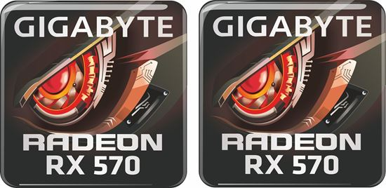 Picture of Gigabyte Radeon RX 570 Gel Badges