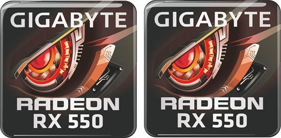 Picture of Gigabyte Radeon RX 550 Gel Badges