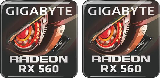 Picture of Gigabyte Radeon RX 560 Gel Badges