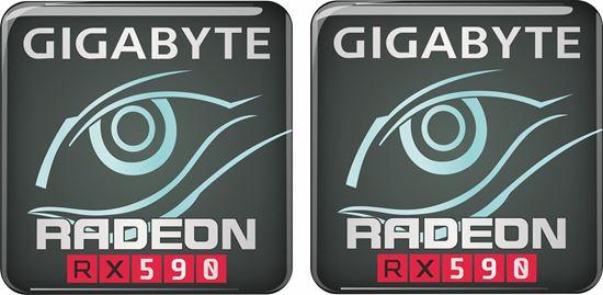 Picture of Gigabyte Radeon RX590 Gel Badges