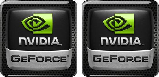 Picture of Nivida GeForce Gel Badges