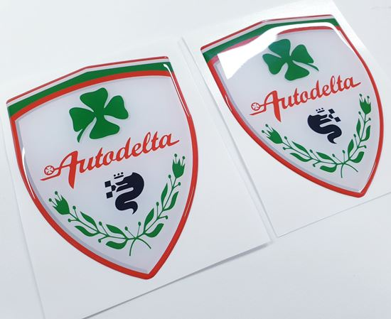 Picture of Alfa Romeo wing Badges 100mm tall