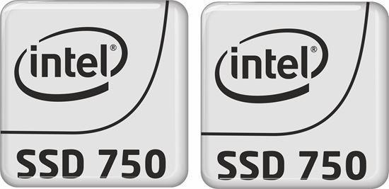 Picture of Intel SSD 750 Badges