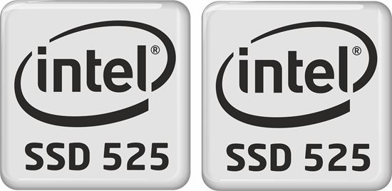 Picture of Intel SSD 525 Badges
