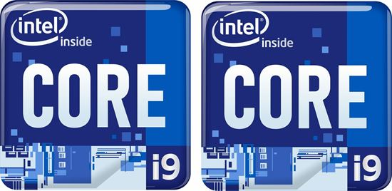 Picture of Intel Core i9 Badges