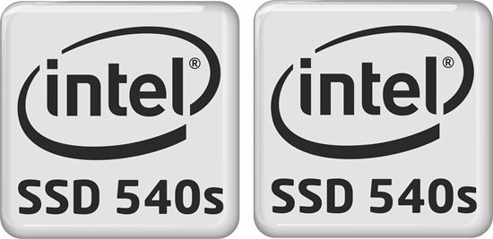 Picture of Intel SSD 540s Badges