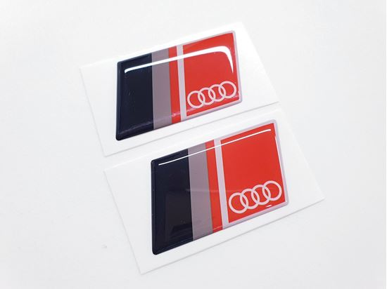 Picture of Audi Gel Badges