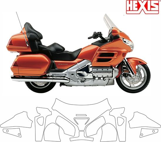 Picture of Honda GL 1800 Goldwing 2001 - 2007 Pre Cut PPF Kit