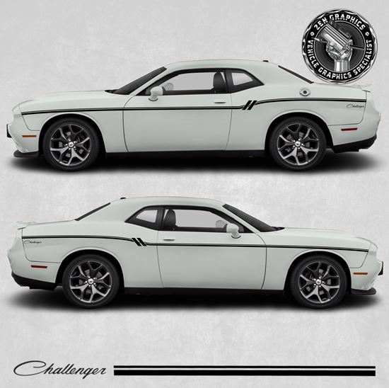Picture of Dodge Challenger side Stripes / Stickers
