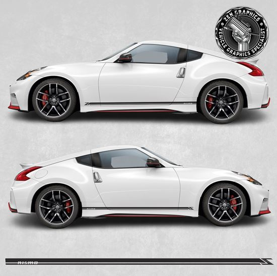 Picture of 370Z Nismo side Stripes