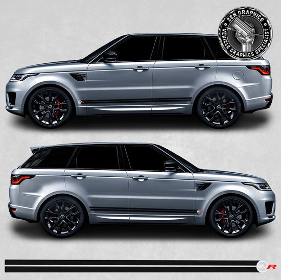 Picture of Range Rover Sport SVR side stripes