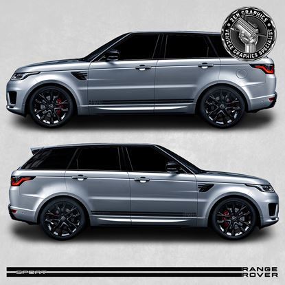Picture of Range Rover Sport side stripes