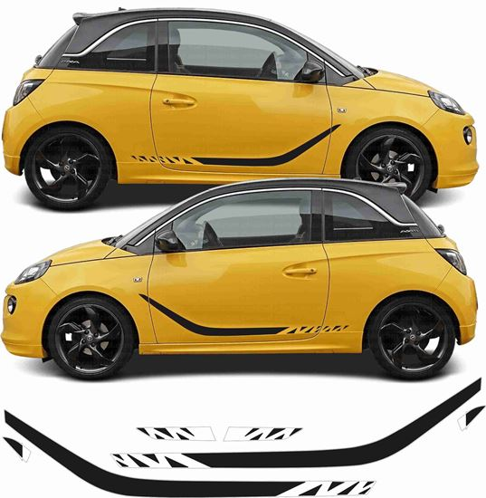 Picture of Vauxhall Adam side Stripes / Stickers EXACT FACTORY SPEC