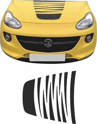 Picture of Vauxhall Adam Bonnet Decal / Sticker EXACT FACTORY SPEC