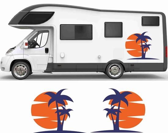 Picture of Sun and Palms General panel Decals / Stickers