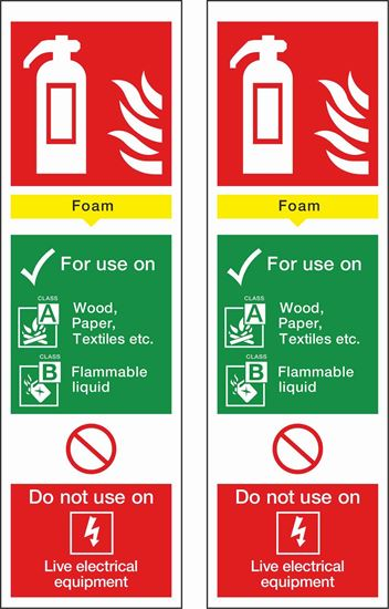 Picture of Fire action Foam Decals / Stickers