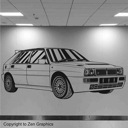 Picture of Lancia Delta Integrale Evo 2 Wall Art sticker