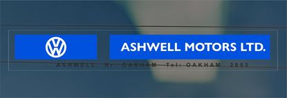 Picture of Ashwell Motors Ltd - Oakham Dealer rear glass Sticker