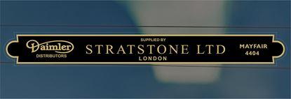 Picture of Stratstone Ltd - London Dealer rear glass Sticker