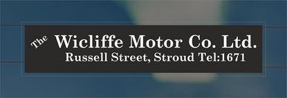 Picture of The Wicliffe Motor Co. Ltd,  - Stroud Dealer rear glass Sticker