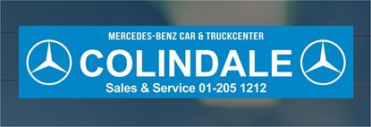 Picture of Colindale Car and Truck Dealer rear glass Sticker