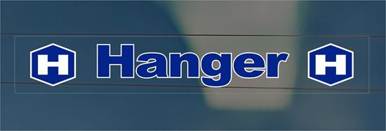 Picture of Hanger rear glass Dealer Sticker