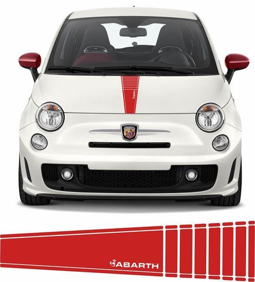 Picture of Fiat 500 /595 Abarth Bonnet Stripe/ Stickers