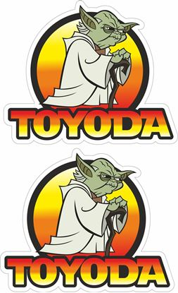 Picture of Toyoda Decals / Stickers
