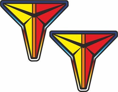 "Picture of Toyota ""T"" retro logo Decals / Stickers"