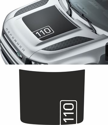 Picture of 2020 Defender 110 Bonnet Decal EXACT FACTORY FIT