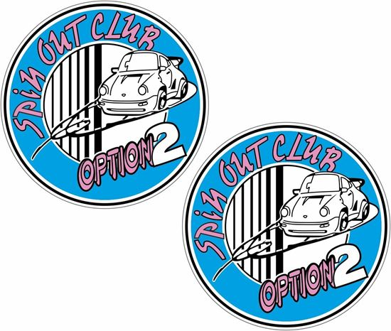 Picture of Option spin out club Decals / Stickers