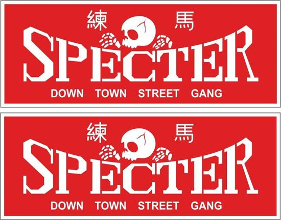 Picture of Specter Decals / Stickers