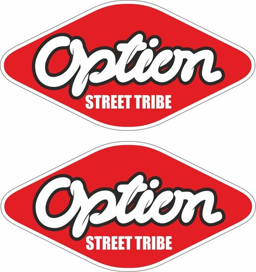 Picture of Option Street Tribe Decals / Stickers