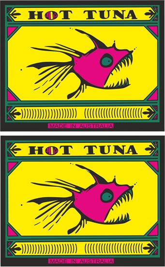 Picture of Hot Tuna Made in Australia Decals / Stickers