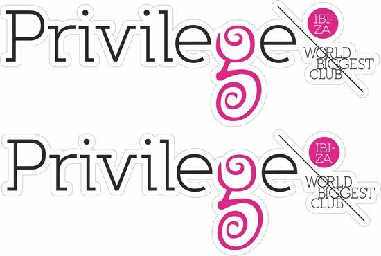 Picture of Privilege Ibiza  Decals / Stickers