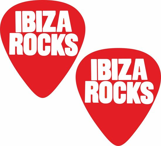 Picture of Ibiza Rocks Decals / Stickers