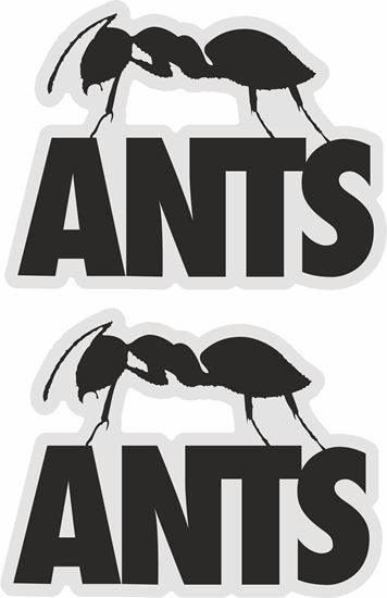 Picture of Ants Ibiza Decals / Stickers