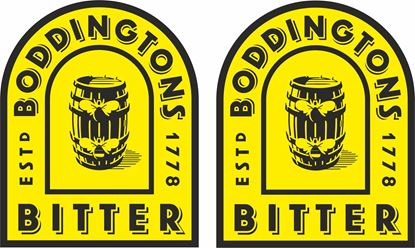 Picture of Boddingtons Bitter Decals / Stickers