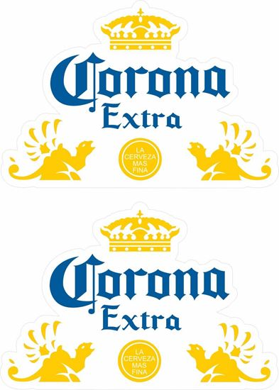 Picture of Corona Decals / Stickers