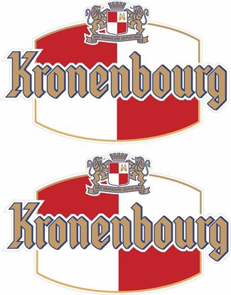 Picture of Kronenbourg Decals / Stickers