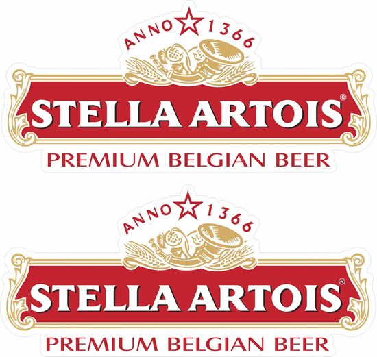 Picture of Stella Artois Decals / Stickers