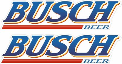 Picture of Busch Beer Decals / Stickers