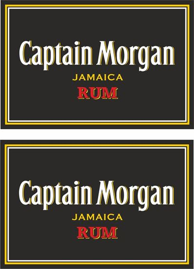 Picture of Captain Morgan Jamaican Rum Decals / Stickers